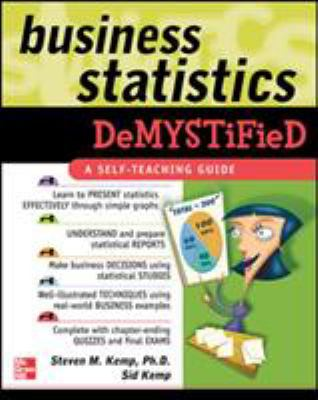 Cover image for Business statistics demystified