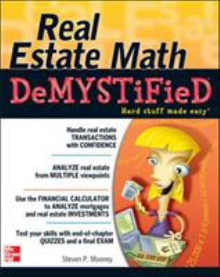 Cover image for Real estate math demystified
