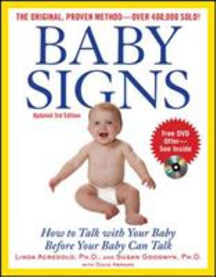 Cover image for Baby signs : how to talk with your baby before your baby can talk