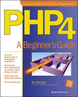 Cover image for PHP 4 : a beginner's guide