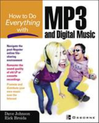 Cover image for How to do everything with MP3 and digital music