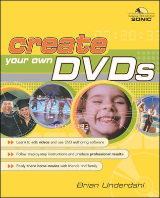 Cover image for Create your own DVDs