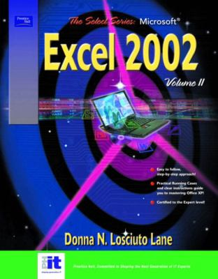 Cover image for The select series. Microsoft Excel 2002