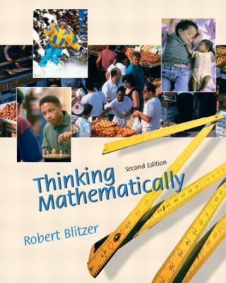 Cover image for Thinking mathematically