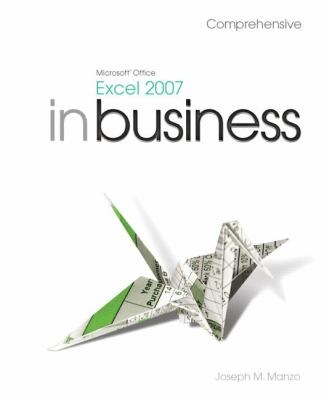 Cover image for Excel 2007 Microsoft Office in business comprehensive