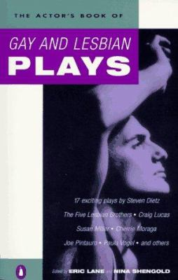 Cover image for The actor's book of gay and lesbian plays