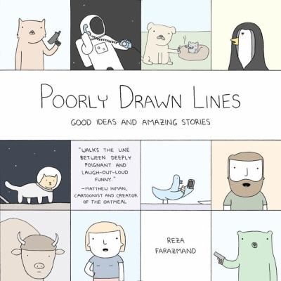 Cover image for Poorly drawn lines : good ideas and amazing stories