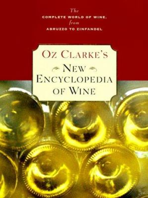Cover image for Oz Clarke's new encyclopedia of wine.