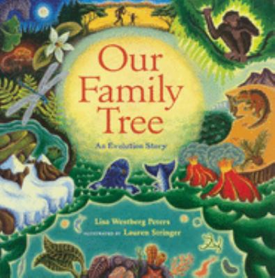 Cover image for Our family tree : an evolution story