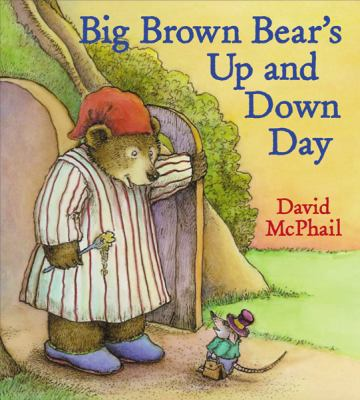 Cover image for Big Brown Bear's up and down day