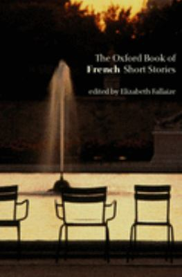 Cover image for The Oxford book of French short stories