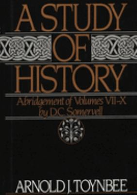 Cover image for A study of history. [Volume 2]