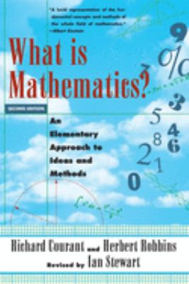 Cover image for What is mathematics? : an elementary approach to ideas and methods