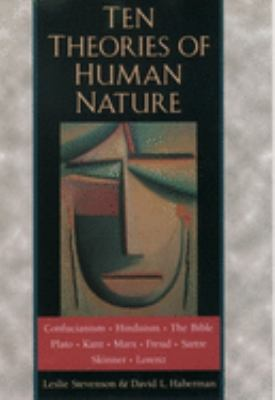 Cover image for Ten theories of human nature
