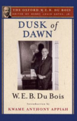 Cover image for Dusk of dawn : an essay toward an autobiography of a race concept