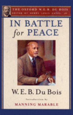 Cover image for In battle for peace : the story of my 83rd birthday