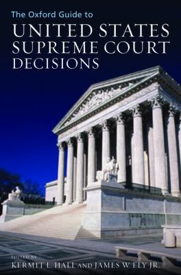 Cover image for The Oxford guide to United States Supreme Court decisions