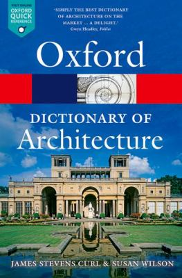 Cover image for The Oxford dictionary of architecture