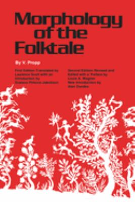 Cover image for Morphology of the folktale