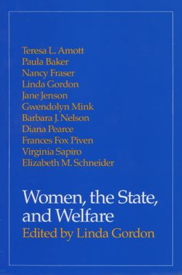 Cover image for Women, the state, and welfare