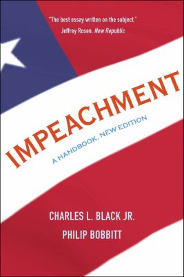 Cover image for Impeachment : a handbook