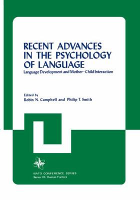 Cover image for Recent advances in the psychology of language