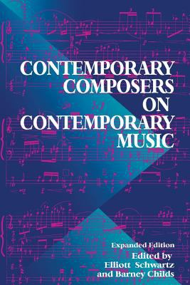 Cover image for Contemporary composers on contemporary music
