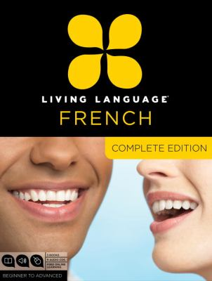 Cover image for Living Language French