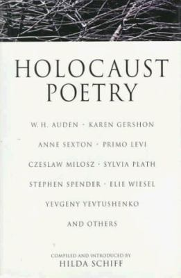 Cover image for Holocaust poetry
