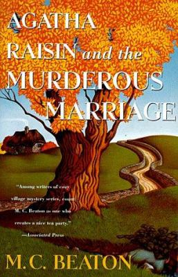 Cover image for Agatha Raisin and the murderous marriage