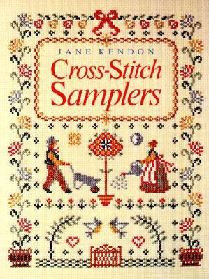 Cover image for Cross-stitch samplers