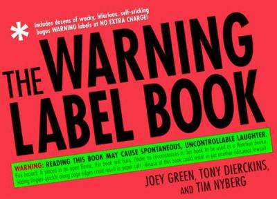 Cover image for The warning label book