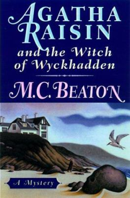 Cover image for Agatha Raisin and the witch of Wyckhadden