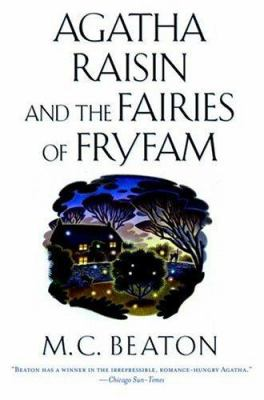 Cover image for Agatha Raisin and the fairies of Fryfam