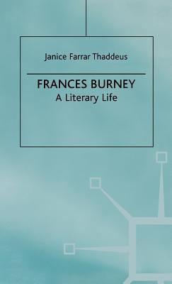 Cover image for Frances Burney : a literary life