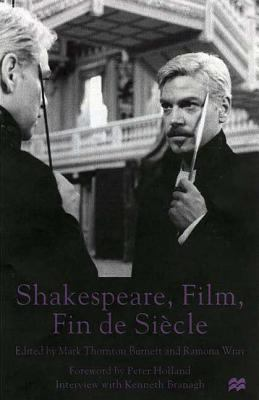 Cover image for Shakespeare, film, fin de siècle