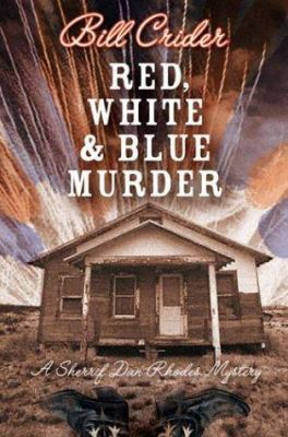 Cover image for Red, white, and blue murder