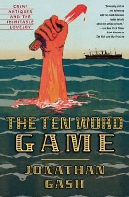 Cover image for The ten word game