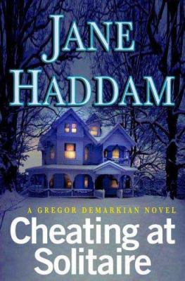 Cover image for Cheating at solitaire : a Gregor Demarkian novel