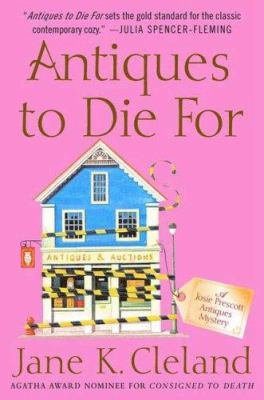 Cover image for Antiques to die for