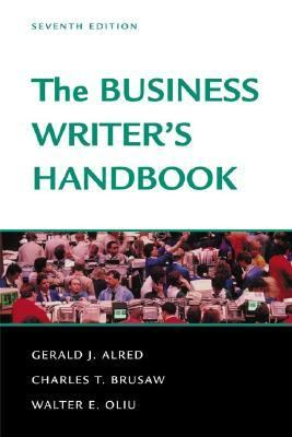 Cover image for The business writer's handbook