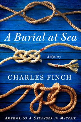 Cover image for A burial at sea