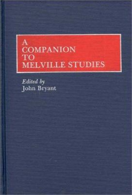Cover image for A Companion to Melville studies