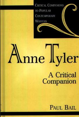 Cover image for Anne Tyler : a critical companion