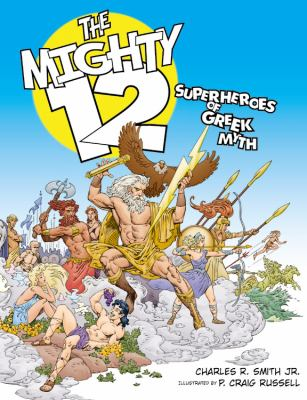 Cover image for The mighty 12 : superheroes of Greek myth