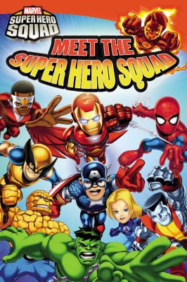 Cover image for Meet the super hero squad!