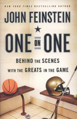 Cover image for One on one : behind the scenes with the greats in the game