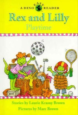 Cover image for Rex and Lilly playtime