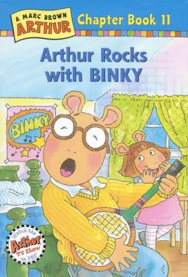 Cover image for Arthur rocks with Binky