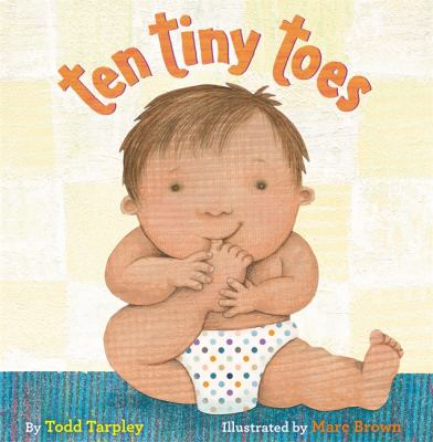 Cover image for Ten tiny toes